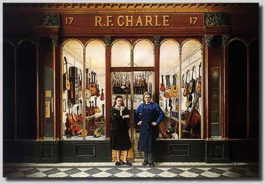 Francois Charle shop, Paris